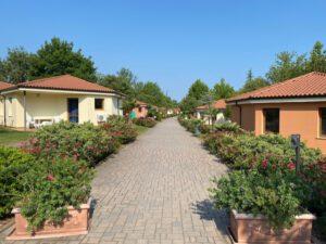 bungalows op camping bella italia