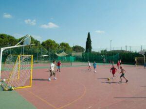 voetbal op camping bella italia