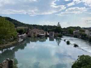 Valeggio sul Mincio in de buurt van het Gardameer